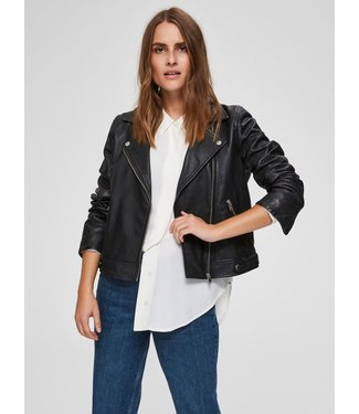 Selected Femme 16071712 SLFKATIE LEATHER JACKET B NOOS