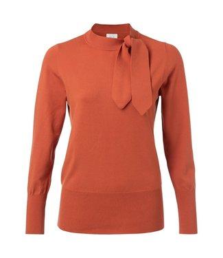 Yaya 1000215-925 Pussy bow sweater