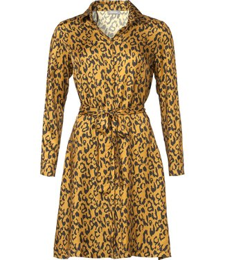 Geisha 97821 Dress leopard AOP with string