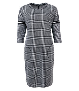 Dayz Orline Check Dress with tape