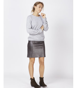 Moscow FW18-13.01 Skirt dark Silver