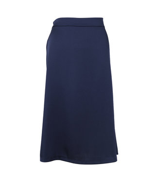 Neo Noir 150062 Junes Satin Skirt  141 Navy
