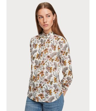 Amsterdams Blauw 153768 Cotton allover printed shirt
