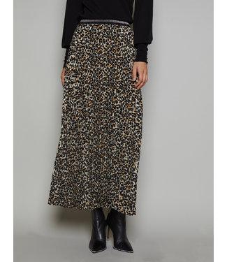 Summum Woman 6s1158-11286 Printed plisse skirt