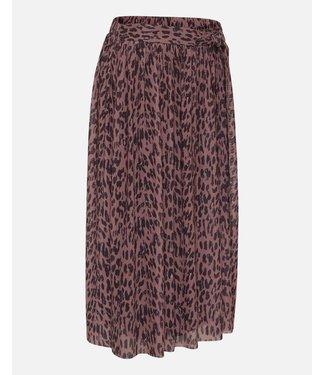 MOSS Copenhagen 14509 Jasmin Mesh Belt Skirt AOP