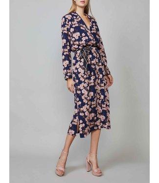 Summum Woman 5s1102-11086 Belted dress long sleeve
