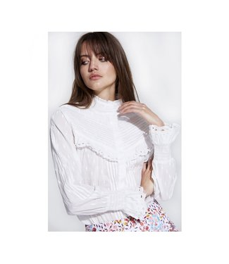 Alix the Label 198905402 ladies woven broderie blouse