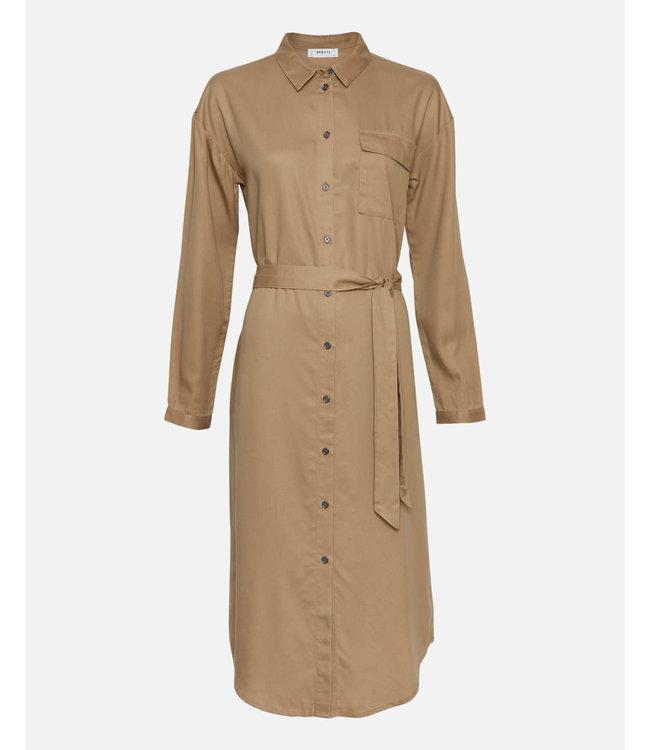 MOSS Copenhagen 15229 Khady Rosanna LS Shirt Dress
