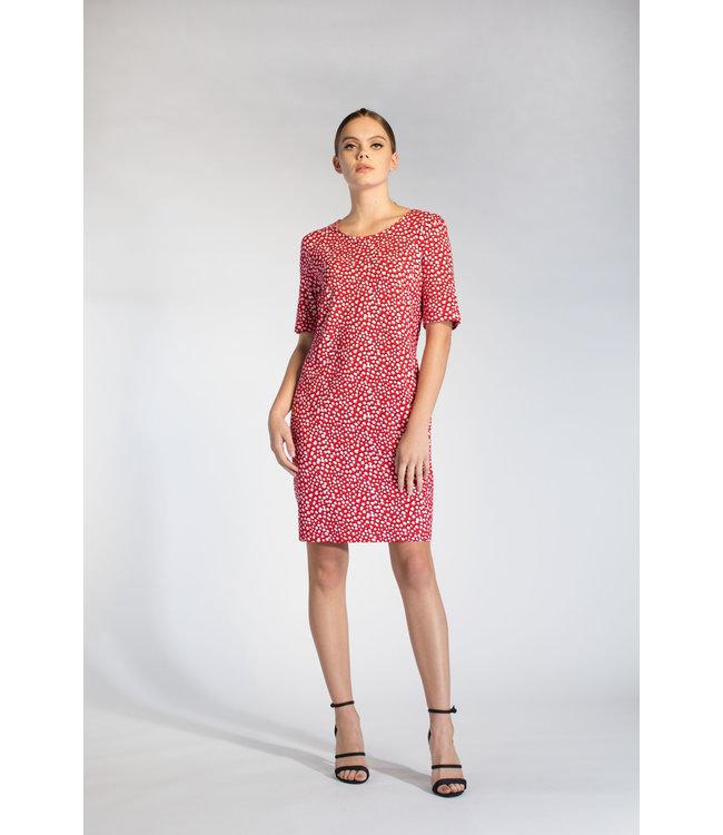 Juffrouw Jansen LAIRY S20 vd511 tight dress wrinkle waist