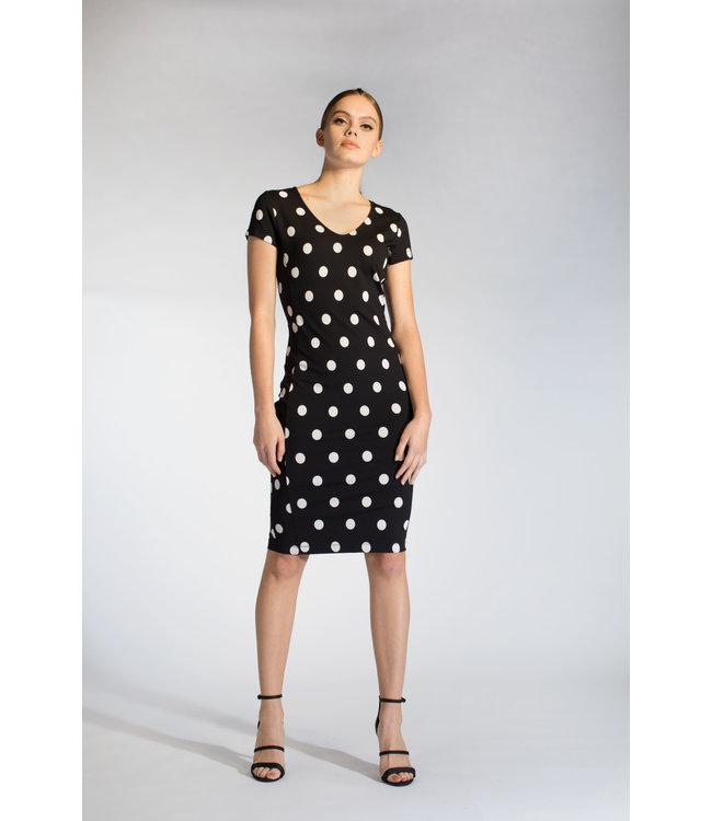 Juffrouw Jansen REGIN S20 bd538 dress V-neck