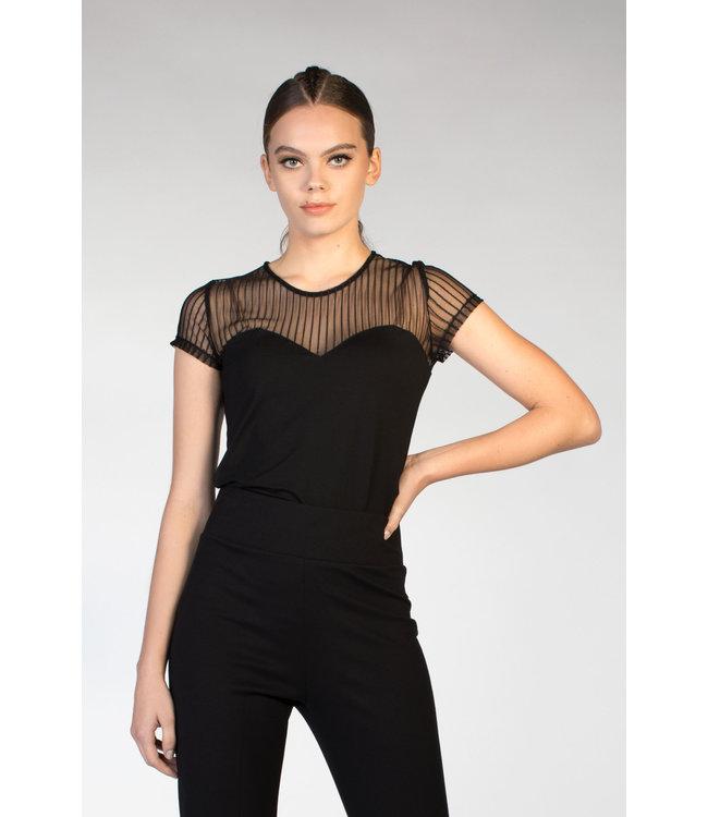 Juffrouw Jansen LAUREL S20 ms120 chest line shirt