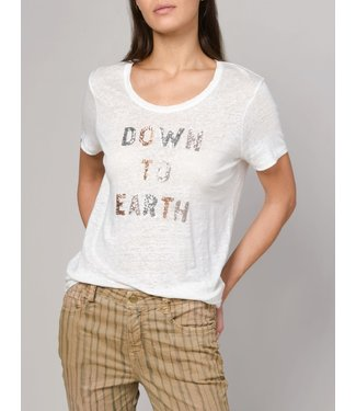 Summum Woman 3s4368-30131 Tee down to earth short slv