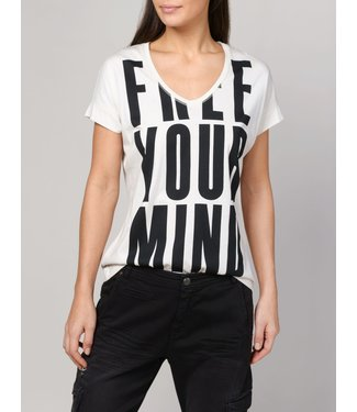 Summum Woman 3s4379-30129 Tee free your mind short slv