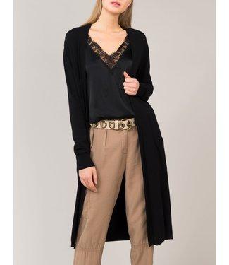 Summum Woman 7s5467-7737 Cardigan basic knit long