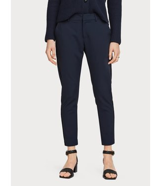 Maison Scotch 156367 Tailored stretch pants with piping details