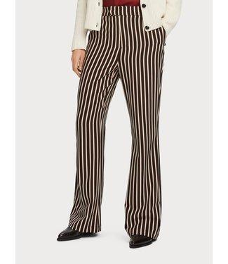 Maison Scotch 156492 Striped flare pants