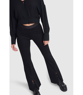 Alix the Label 201124435 ladies knitted flared pants