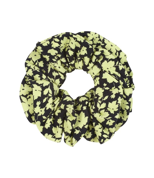 Catwalk Junkie 2002013200 AC LIME FLOWERS SCRUNCHIE