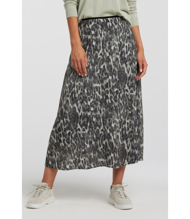Yaya 140177-012 Midi A-line skirt