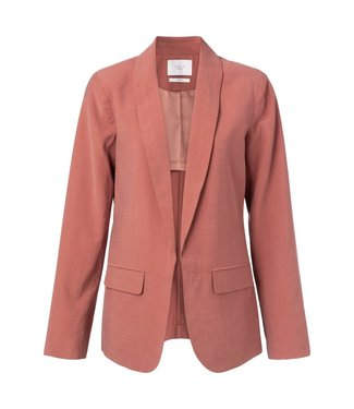 Yaya 150150-012 Blazer with belted detail on back