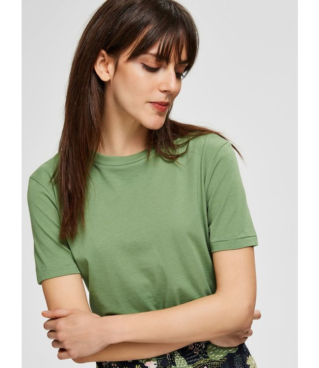 Selected Femme 16048004 SLFMY PERFECT SS TEE BOX CUT COLOR