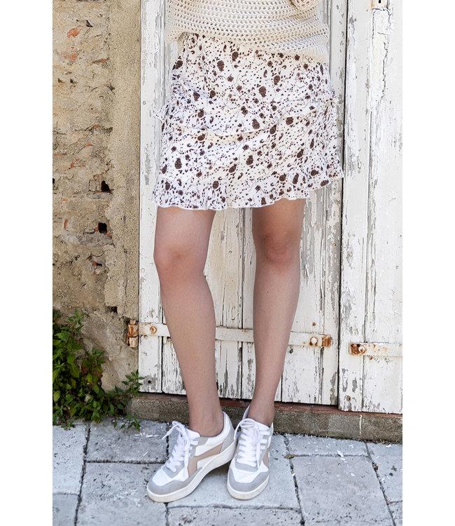 Esqualo SP20.15027 Skirt short small flower