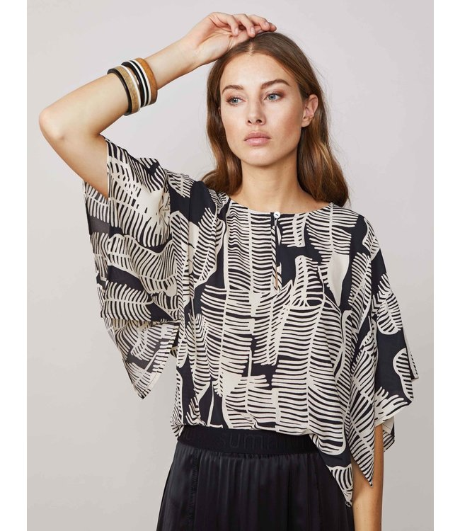 Summum Woman 2s2363-11120 Top leaves
