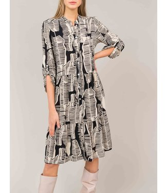 Summum Woman 5s1140-11120 Dress leaves