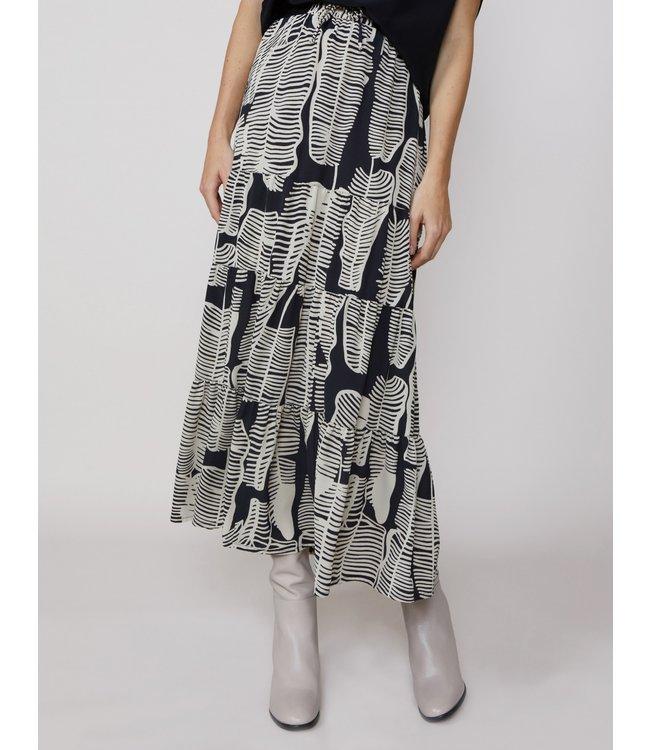 Summum Woman 6s1144-11120 Skirt leaves