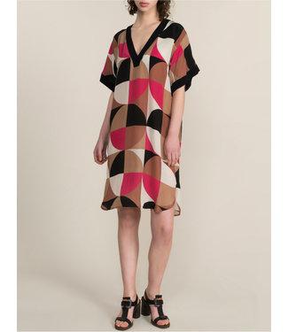 Summum Woman 5s1146-11117 Dress graphic circles