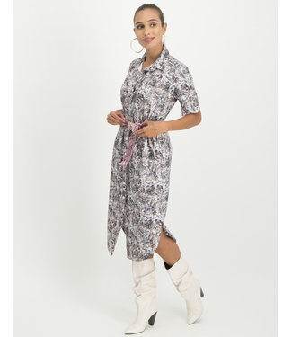 Jane Lushka UPS920SS257 Melania Dress Pink Snake
