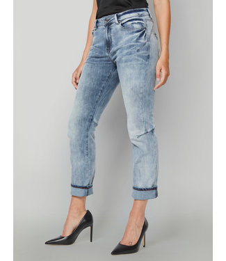 Summum Woman 4s1920-5028 Jeans tapered active denim