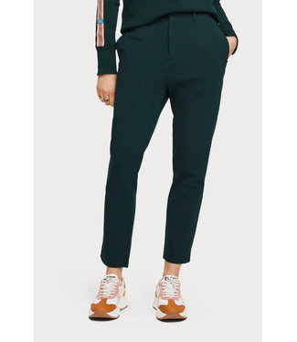 Maison Scotch 156374 Tailored stretch jogger pants with high waist