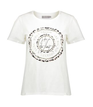 Geisha 02065-41 T-shirt s/s with front print