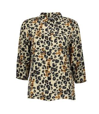 Geisha 03039-42 Blouse AOP leopard l/s