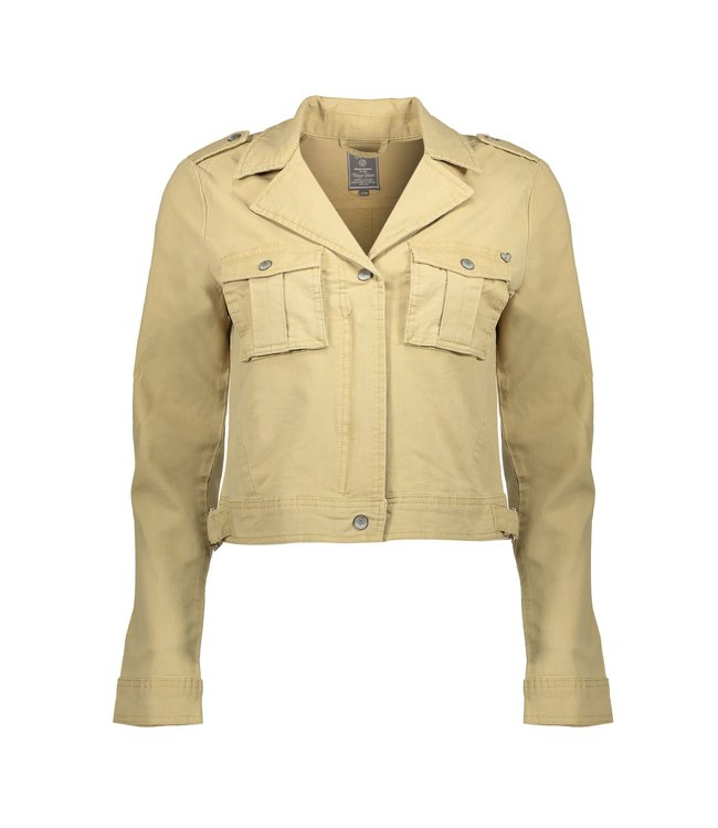 Geisha 05003-10 Jacket short with pockets l/s