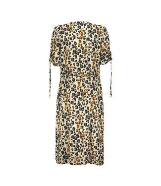 Geisha 07051-42 Dress AOP leopard & straps s/s