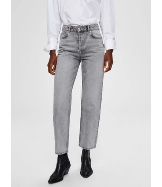 Selected Femme 16071957 SLFKATE HW STRAIGHT JEANS