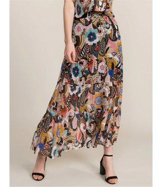Summum Woman 6s1147-11127 Skirt flower print