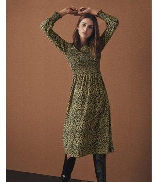 MOSS Copenhagen 14859 Celina Morocco LS Smock Dress AOP