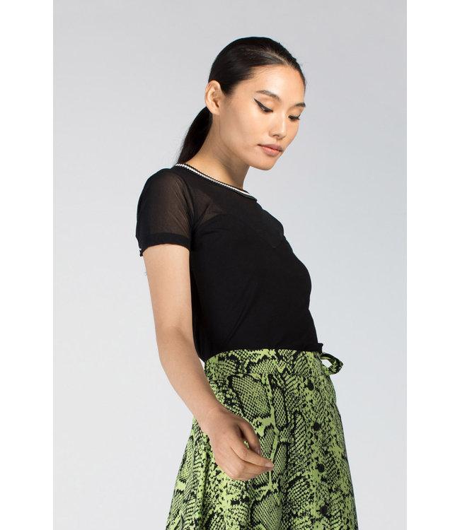 Juffrouw Jansen OPHEL S20 mh152 wrinkle shirt