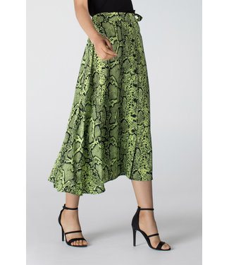 Juffrouw Jansen STELA S20 ws620 long wide skirt buttons
