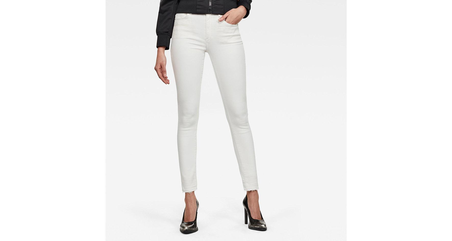 De witte jeans
