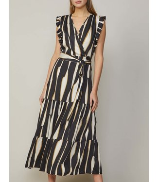 Summum Woman 5s1185-11185Dress irregular stripe