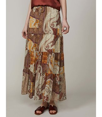 Summum Woman 6s1154-11187Skirt oriental transparant