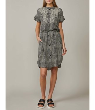 Summum Woman 5s1150-11214Shirt dress animinimal print