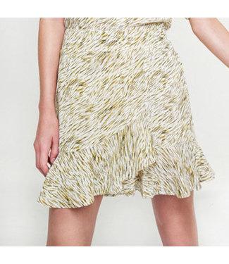 Alix the Label 203284584 ladies woven mini zebra skirt