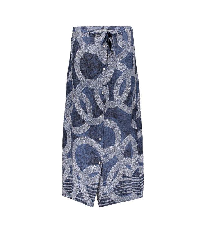 Geisha 06061-40 Skirt AOP circle
