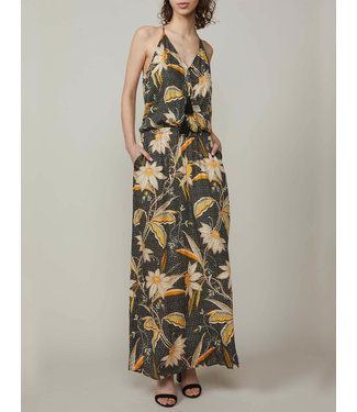 Summum Woman 5s1174-11192Dress flower and leaves