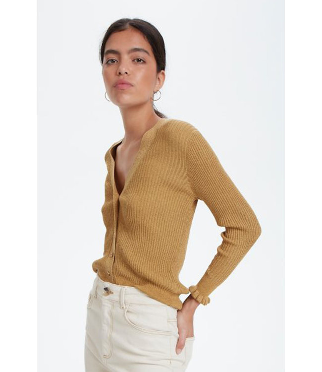 Soaked in Luxury 30404764 SLGoldy Cardigan